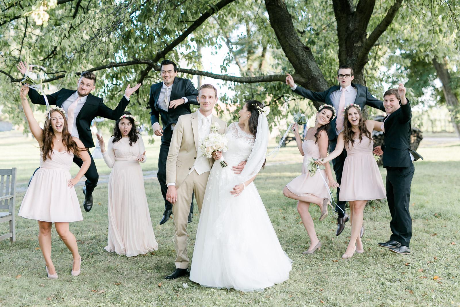 Gruppenfoto Hochzeit Weiden am See Burgenland