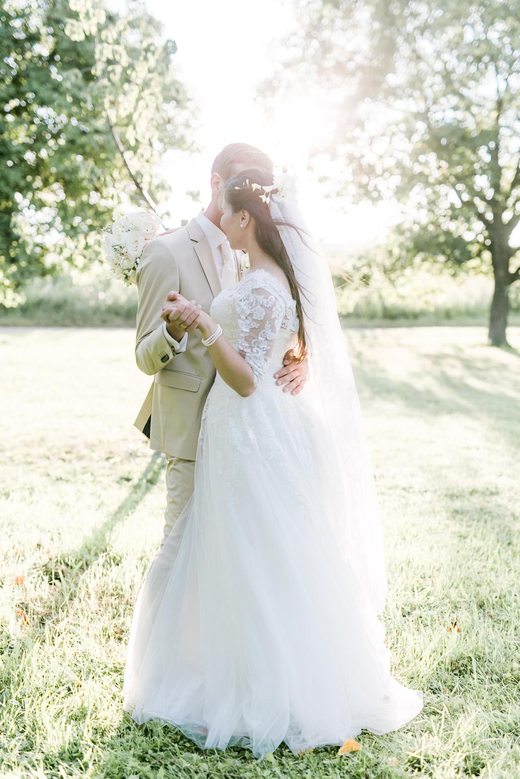 Brautpaarfoto Hochzeit Burgenland