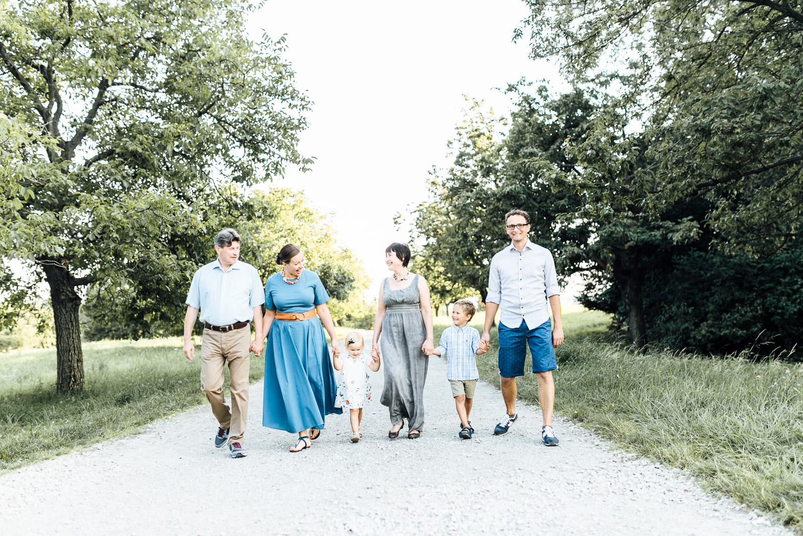 Familysession im Grünen