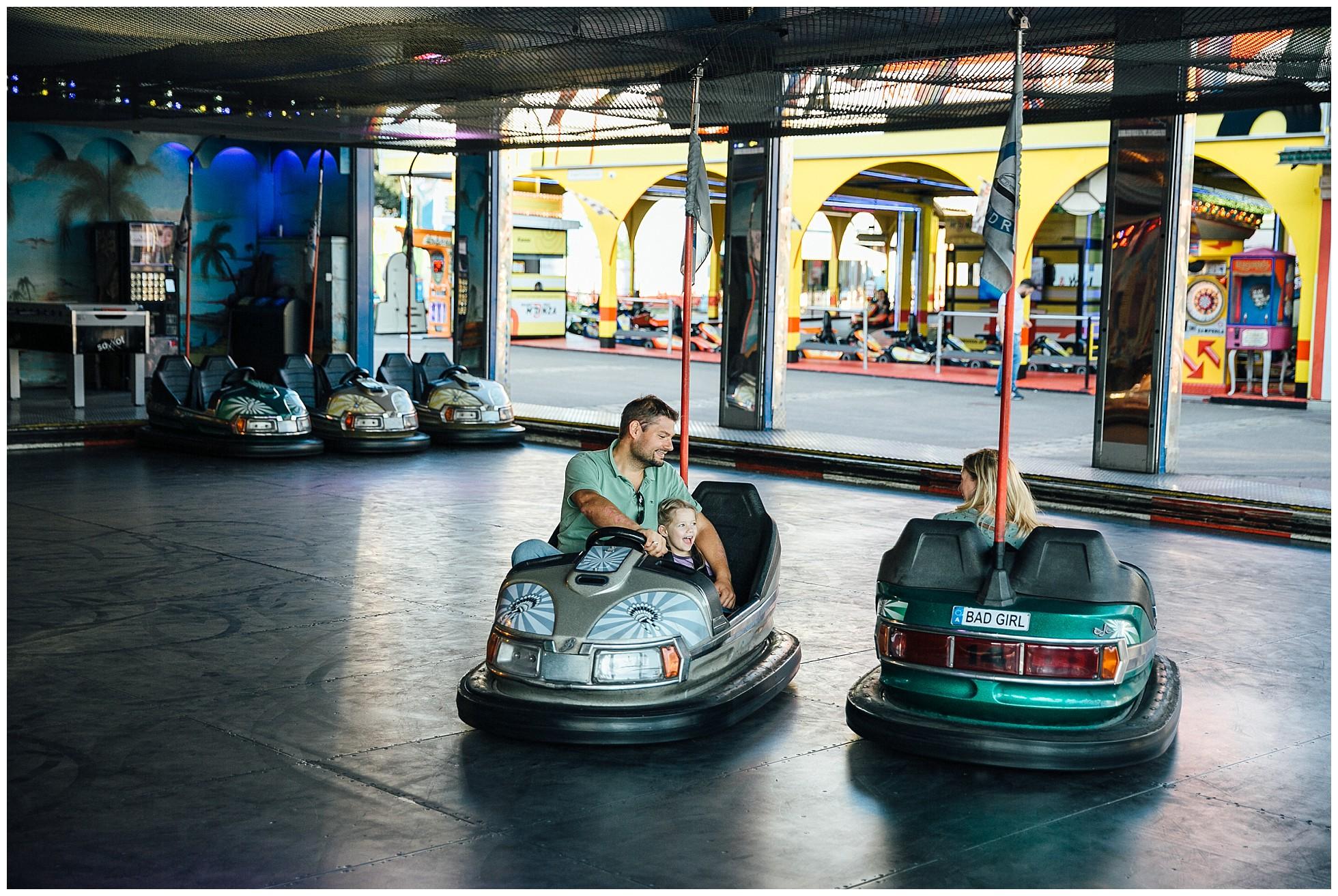 Familienfotografie Wiener Prater Autodrom
