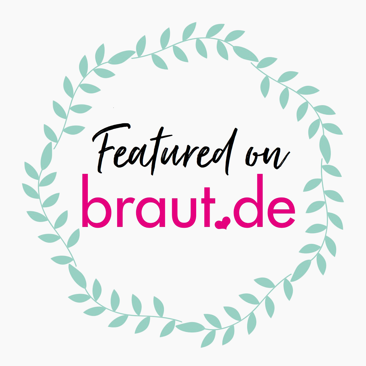 Featured on braut.de